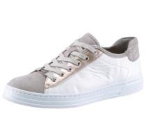Sneaker »Courty« beige / rosegold / weiß