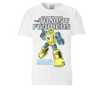 "T-Shirt ""Transformers"" weiß"