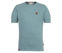 Male T-Shirt blaumeliert