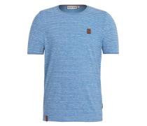 T-Shirt 'Hosenpuper X' himmelblau