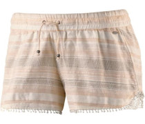Shorts 'LW Jaquard Lace Detail' rosa / weiß