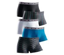 Hipster H.i.s (5 Stck.) blue denim / graphit / schwarz / weiß