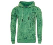 Sweatshirt in verwaschenem Look mit Schriftzug