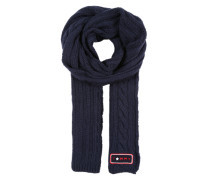Strickschal navy