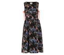 Sommerkleid 'VMSea' blau / schwarz