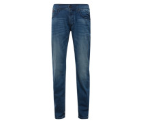 Straight Fit Jeans 'Ryan' blue denim