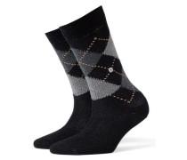 Socken 'Whitby' grau / schwarz