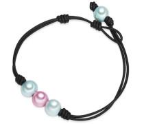 Armband türkis / rosa / schwarz