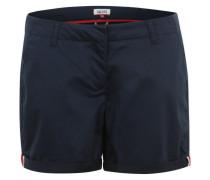 Klassische Chino Shorts dunkelblau