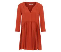 Kleid im Tunika-Stil rot