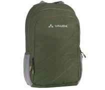 Recycled PETali Rucksack 39 cm Laptopfach grün