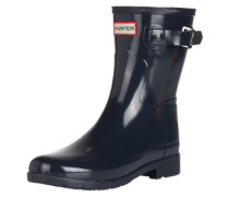 Gummistiefel 'original Refined Short Gloss' navy