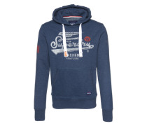 Sweatshirt 'High Flyers Hood' dunkelblau