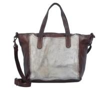 Traditional Handtasche Leder 22 cm braun