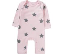 Baby Strampler für Mädchen rosa