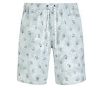 Barts World HOT TUB Short Grey grau