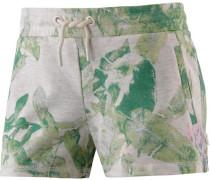 Shorts Damen hellgrau / grün / hellgrün