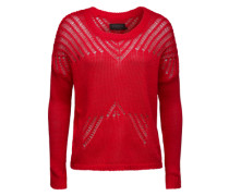 Pullover aus Baumwolle 'Naroce' rot