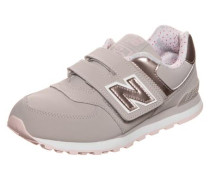 'kv574-F1Y-M' Sneaker Kinder rosegold / grau