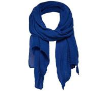 Einfarbiger Schal blau