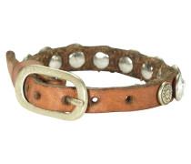 Bracciali Armband Leder 25 cm braun