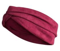 Wildleder-Haarband pink