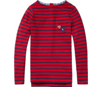 Langarm T-Shirts Sasha Stripe BN Knit L/s« blau / rot