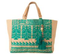 Shopper 'Savana Emb' grün