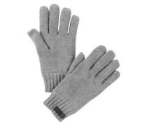 Handschuhe mit Fleece-Futter grau