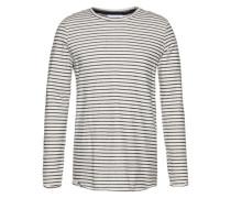 Sweatshirt im Vintage-Look 'Onur' schwarz