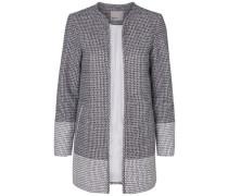 Lange Jacke grau / dunkelgrau