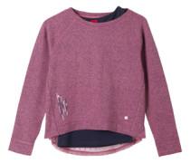 Sweatshirt im 2-in-1-Look pink