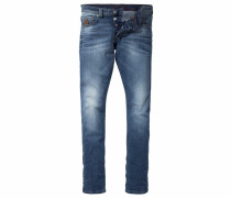 Slim-fit-Jeans Jimmy blau