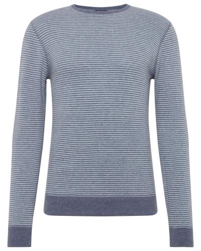 Sweatshirt 'JV SET Sweat Cfjs' navy / weiß