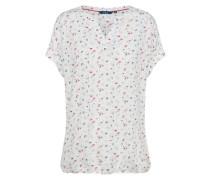 Casual Bluse mischfarben / weiß