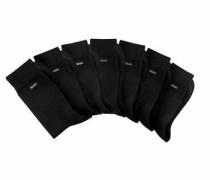 Travel Bag Socken (7 Paar) schwarz