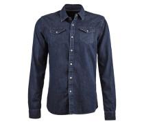 Hemd »Ams Blauw Denim Western Shirt« blau