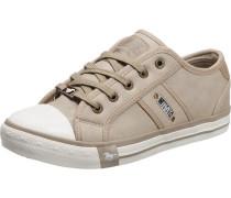 Sneaker camel / weiß