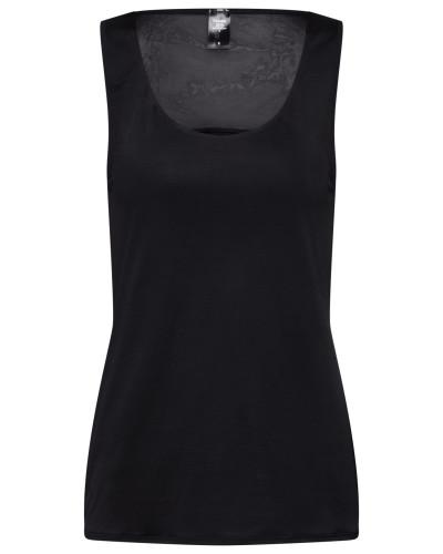 Unterhemd 'Feminine Air' schwarz