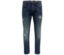 'Loom Bl Breaks' Slim Fit Jeans