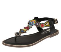 Sandalen 'Etno' mischfarben / schwarz