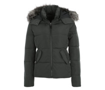 Winterjacke 'ONLNew Lana Down Jacket' anthrazit