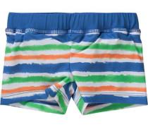 Baby Badehose mit UV-Schutz für Jungen blau / hellgrün / hellorange / weiß