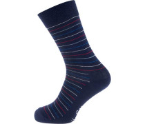 ein Paar Socken navy / rot / weiß