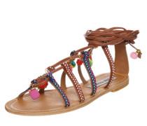 Sandale 'Ommaha' braun / mischfarben