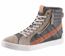 Sneaker 'D-String Plus' hellbraun / grau / orange