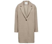 Oversize-Mantel beige