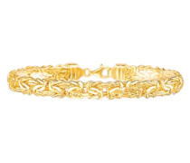 Armschmuck: Armband in Königskettengliederung gold