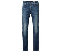 Regular-Fit-Jeans blau