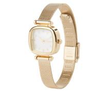 Armbanduhr 'Moneypenny Royale' gold / weiß